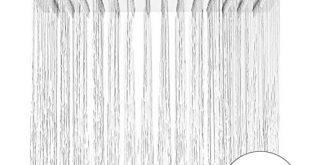 HAUSPROFI Duschkopf Regendusche Brause Bad Amatur Dusche Luxus Kopfbrause 12 310x165 - HAUSPROFI Duschkopf Regendusche Brause Bad Amatur, Dusche, Luxus Kopfbrause 12 Zoll Regenbrause Regenduschkopf, Eckig 304 Edelstahl poliert Spiegeleffekt hochglänzend (Eckig 30cm)